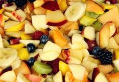 Corte o fundo da fruta Imagens de Stock