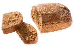 Corte o pão Fotografia de Stock Royalty Free