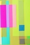 Corte o papel colorido 15 Foto de Stock