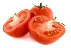 Corte o tomate Imagem de Stock Royalty Free