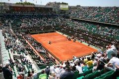 Corte Philippe Chatrier di Roland Garros 2011 immagini stock