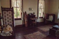 1904 corte planetaria, Berthaldine Sterling Boomer Room en el parque de estado histórico de Koreshan imagenes de archivo