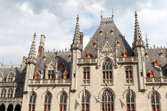 Corte provinciale a Bruges, Belgio Fotografie Stock