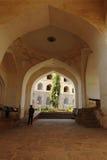 Corte que aplaude en la fortaleza de Golconda, Hyderabad Fotografía de archivo libre de regalías