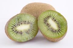 Corte recentemente a fruta de quivi Foto de Stock