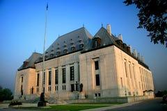 Corte suprema de Canadá Fotos de Stock Royalty Free