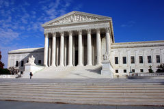 A corte suprema de Estados Unidos Fotos de Stock