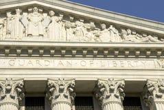 Corte suprema degli Stati Uniti - guardiano di Fotografie Stock