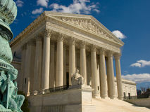 Corte suprema degli Stati Uniti, Washington DC Fotografia Stock Libera da Diritti
