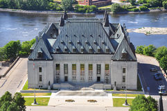 Corte suprema del Canada, Ottawa Fotografia Stock Libera da Diritti