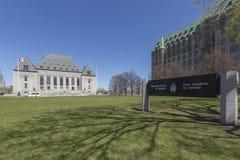 Corte suprema dell'edificio di Canada Fotografie Stock