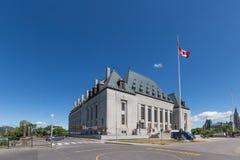 Corte suprema dell'edificio di Canada Immagine Stock Libera da Diritti