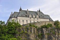 Corte suprema della vista laterale del Canada da acqua Fotografie Stock