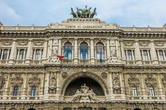 Corte suprema di cassazione (Italia) immagine stock