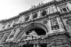 Corte Suprema di Cassazione a Roma Fotografia Stock Libera da Diritti