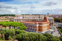 Corte Suprema di Cassazione a Roma, Italia Immagine Stock