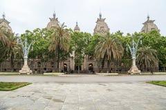 Corte suprema di giustizia della Catalogna, Barcellona Immagine Stock