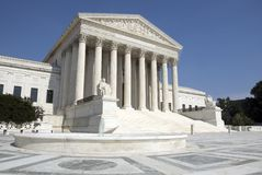 Corte suprema dos E.U. Fotos de Stock