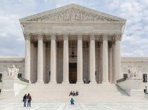 Corte suprema dos Estados Unidos fotografia de stock
