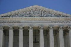 Corte suprema: giustizia uguale secondo legge Fotografie Stock Libere da Diritti