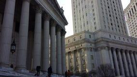 Corte suprema NYC Fotografia Stock Libera da Diritti