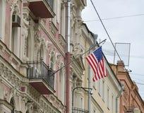 Corte suprema in Washington, DC degli Stati Uniti S Consolato generale a St Petersburg immagini stock