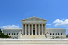 Corte suprema in Washington DC, U.S.A. degli Stati Uniti Fotografia Stock Libera da Diritti