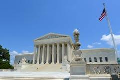 Corte suprema in Washington DC, U.S.A. degli Stati Uniti Fotografie Stock Libere da Diritti