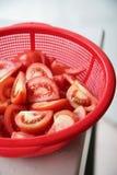 Corte tomates fotos de stock royalty free