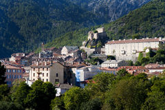 Corte townscape Royalty Free Stock Image