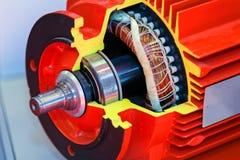 Corte transversal de la pieza del motor Foto de archivo libre de regalías