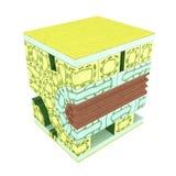 Corte transversal de una hoja libre illustration
