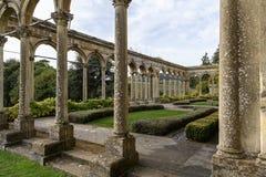 Corte y jardín de Witley fotografía de archivo