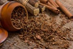 Corteccia della quercia Immagine Stock