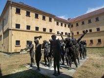 The Cortege of the Sacrificial Victims, Sighetul Marmatiei Royalty Free Stock Photo