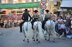 Cortejo tun Mordomo, Festa DOS Tabuleiros lizenzfreies stockbild