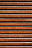 Corten iron fence Royalty Free Stock Images