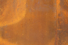 Corten steel texture Stock Images