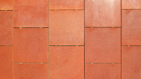 Corten steel wall Stock Images