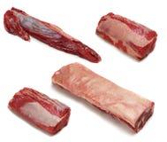Cortes crus da carne Foto de Stock Royalty Free