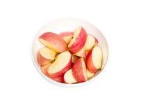 Cortes de Apple Imágenes de archivo libres de regalías
