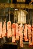 Cortes de la carne Fotografía de archivo libre de regalías