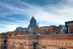 Cortes de lei de Bruxelas, Bélgica Foto de Stock