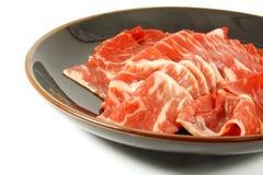 Cortes japoneses da prima da carne de Karubi Wagyu imagem de stock royalty free