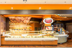 Cortesi面包店在德布勒森 免版税库存图片