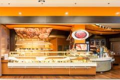 Cortesi-Bäckerei in Debrecen Lizenzfreies Stockbild