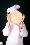 Corteza de empanada hecha frente Foto de archivo