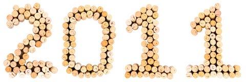 Cortiça 2011 Imagem de Stock Royalty Free
