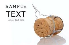 Cortiça de Champagne Imagem de Stock Royalty Free