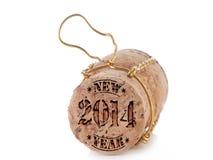Cortiça de Champagne Foto de Stock Royalty Free